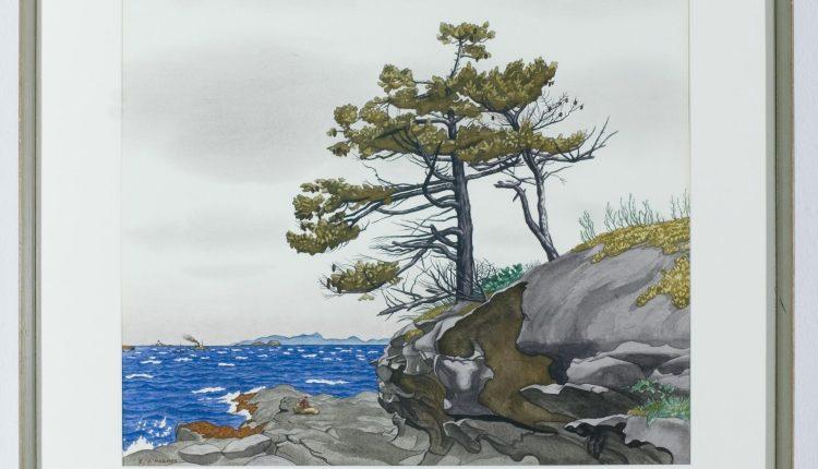 E.J. Hughes – Gabriola Island, 1957