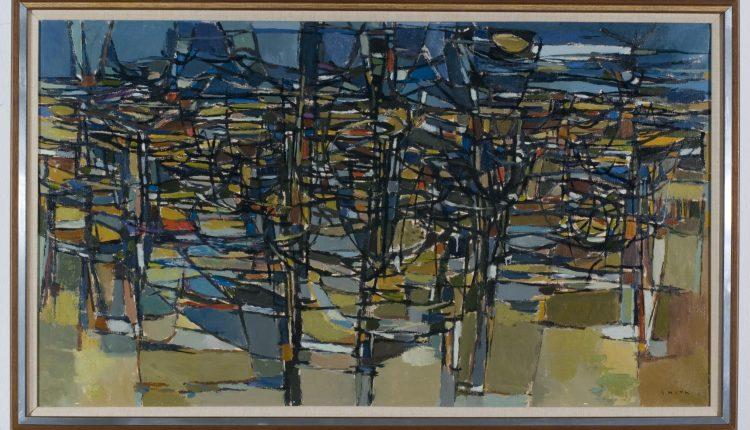 Gordon Smith – Tangeled Undergrowth, 1957