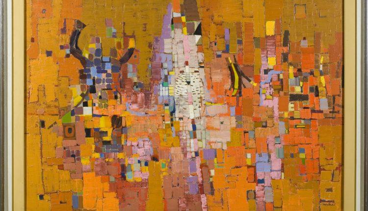 Jack Shadbolt – Mosaic for Autumn, 1957