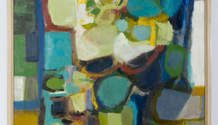 Tom Hodgson – Painting Full Gown, 1956