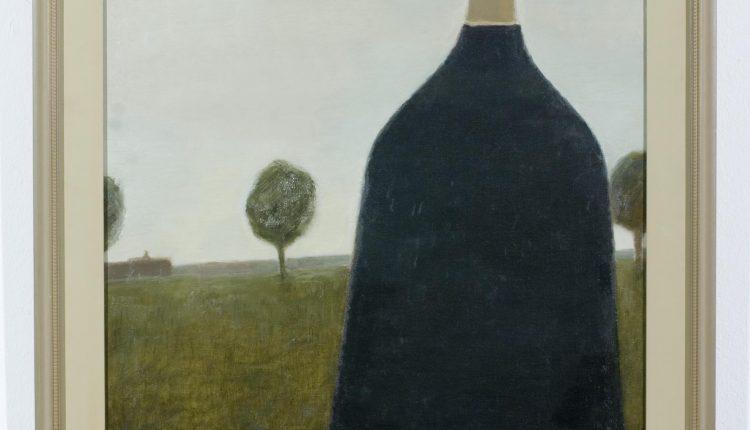 Jean-Paul Lemiux – Jeune Fille En Un Uniforme, 1957