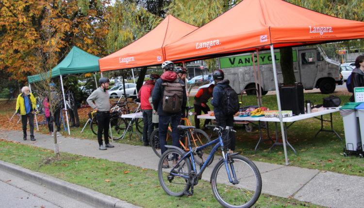 Bike on campus