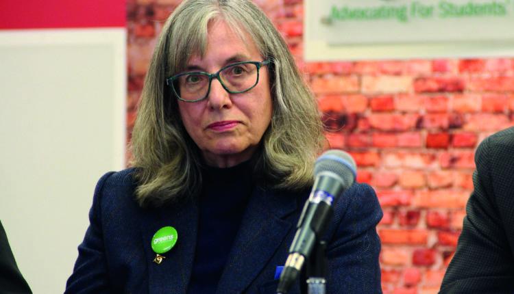 Judy Zaichowsky at LSU debate 08/10/19