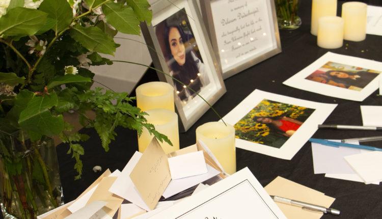 A memorial for Delaram Dadashnejad was held at Langara on Jan. 13, 2020. Photo by Lina Chung.