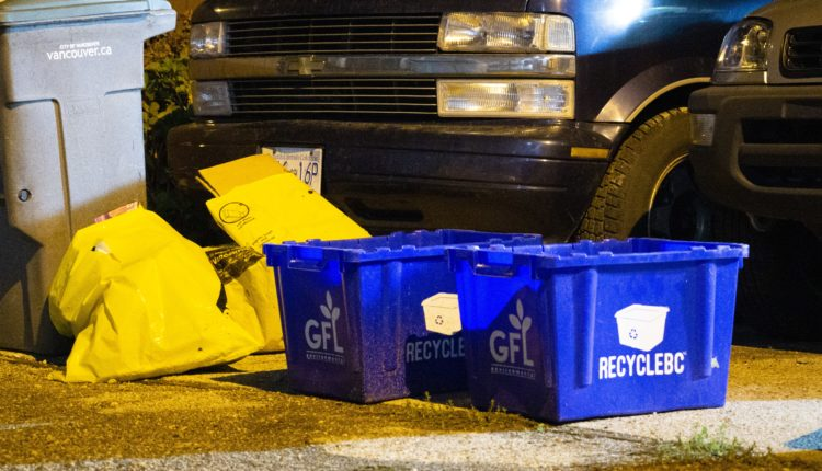 Recycle bins in BC